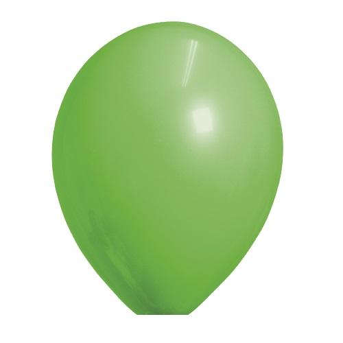 Ballonnen groen standaard 100 stuks