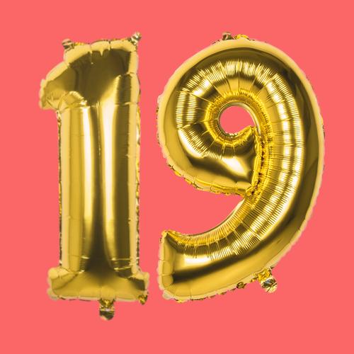 19 jaar