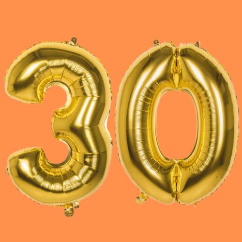 Versiering verjaardag 30