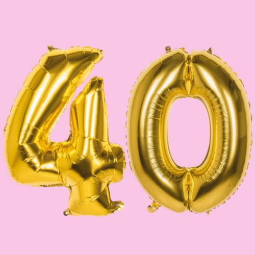 Versiering 40 jaar verjaardag