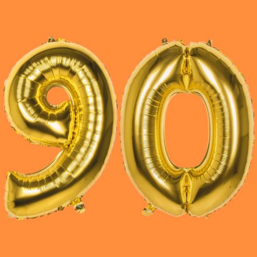 90 jaar