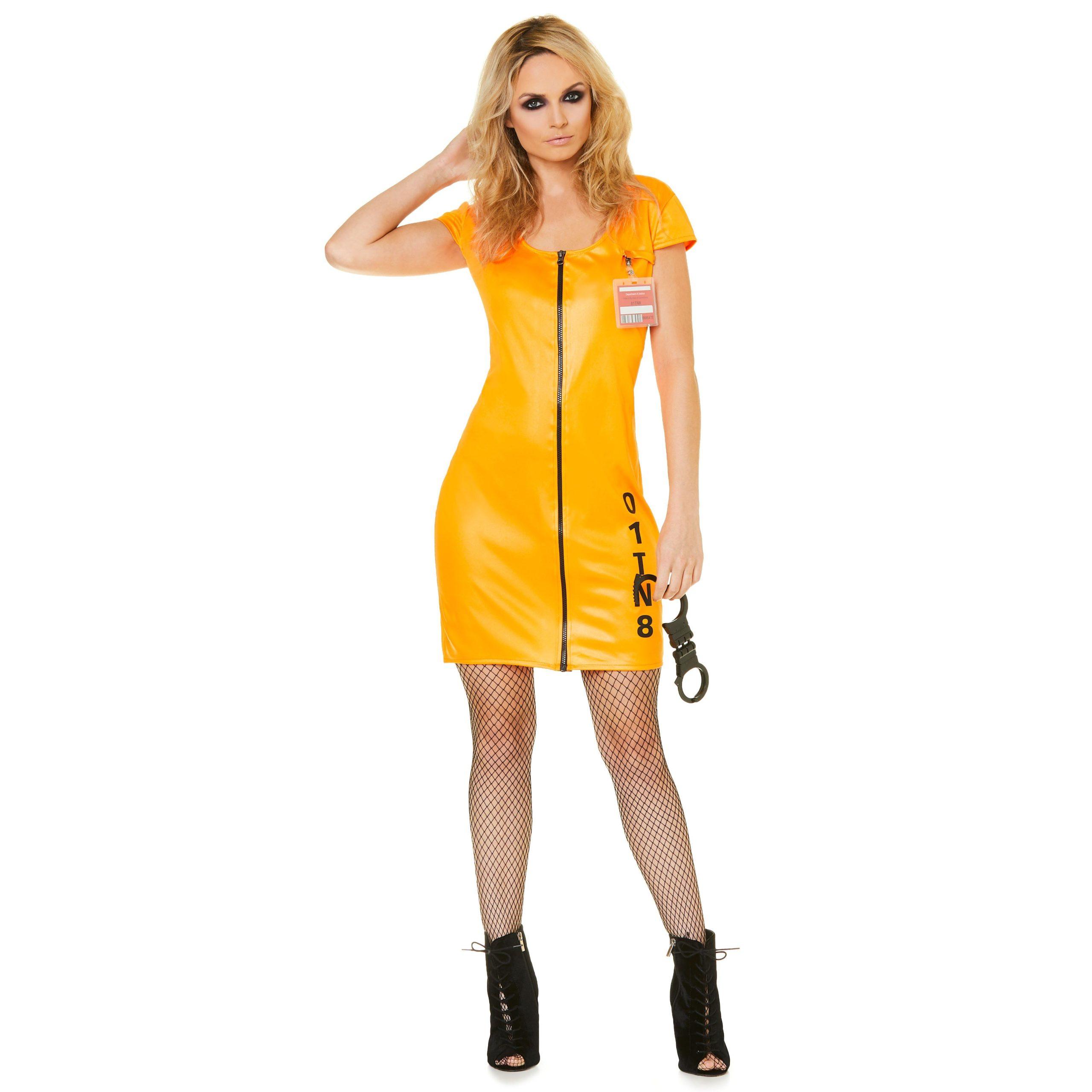 Boeven jurkje oranje