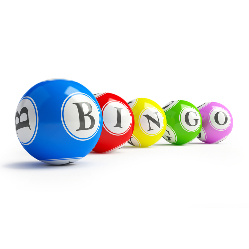 Loterij, kien en bingo
