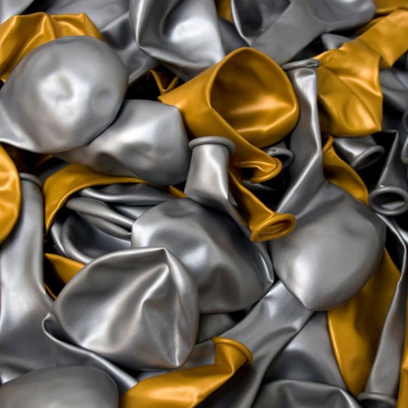 Ballonnen metallic kleuren