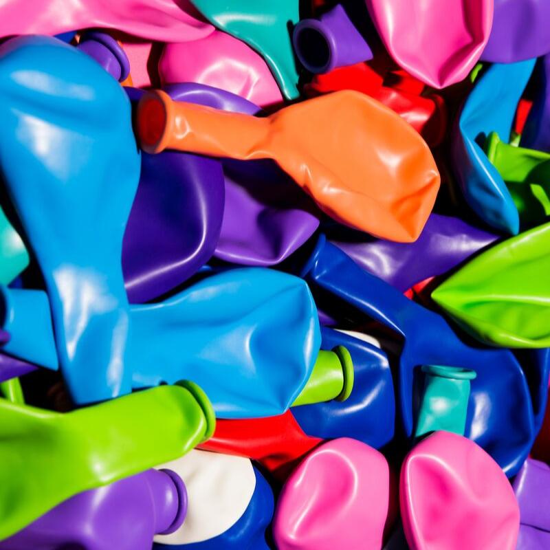 Ballonnen standaard kleuren