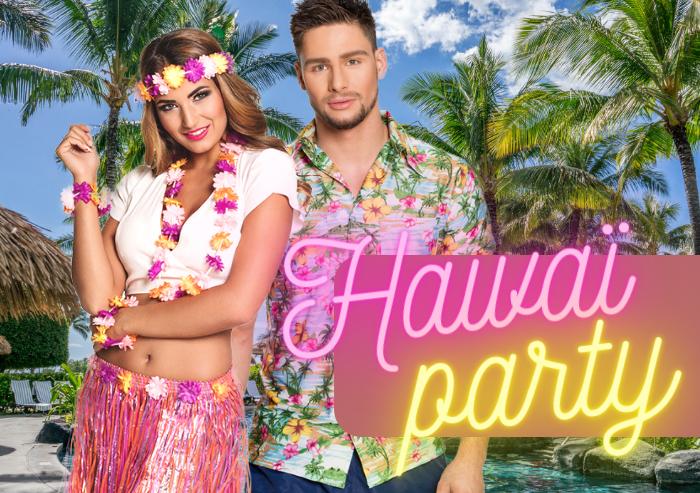 Zomerse Hawaii party