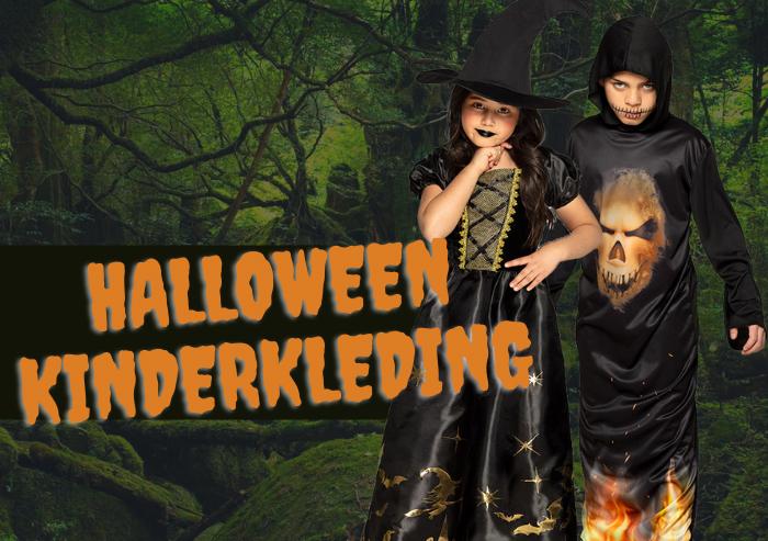 Halloween kleding voor kinderen