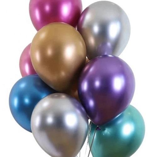 Ballonnen chrome kleuren