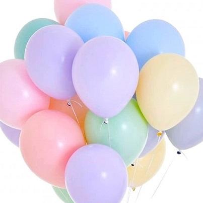 Ballonnen matte kleuren