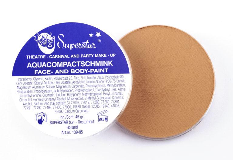 012 geelachtig mat bruin waterschmink Superstar 16 gram