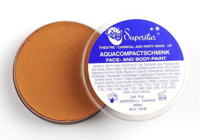 027 leeuw bruin waterschmink Superstar 16 gram