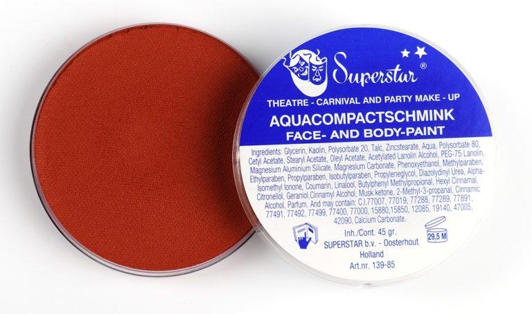 029 Indiaan bruin waterschmink Superstar 16 gram