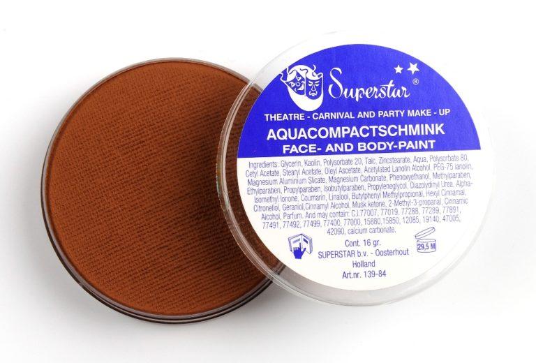031 licht bruin waterschmink Superstar 16 gram