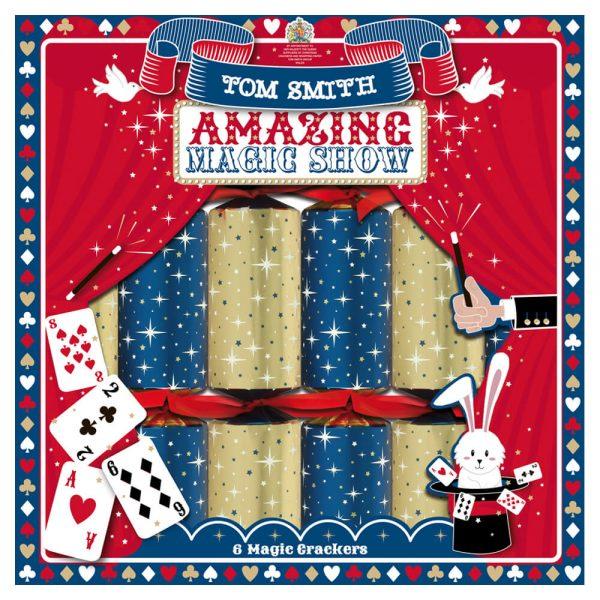 6 Christmas Crackers magical