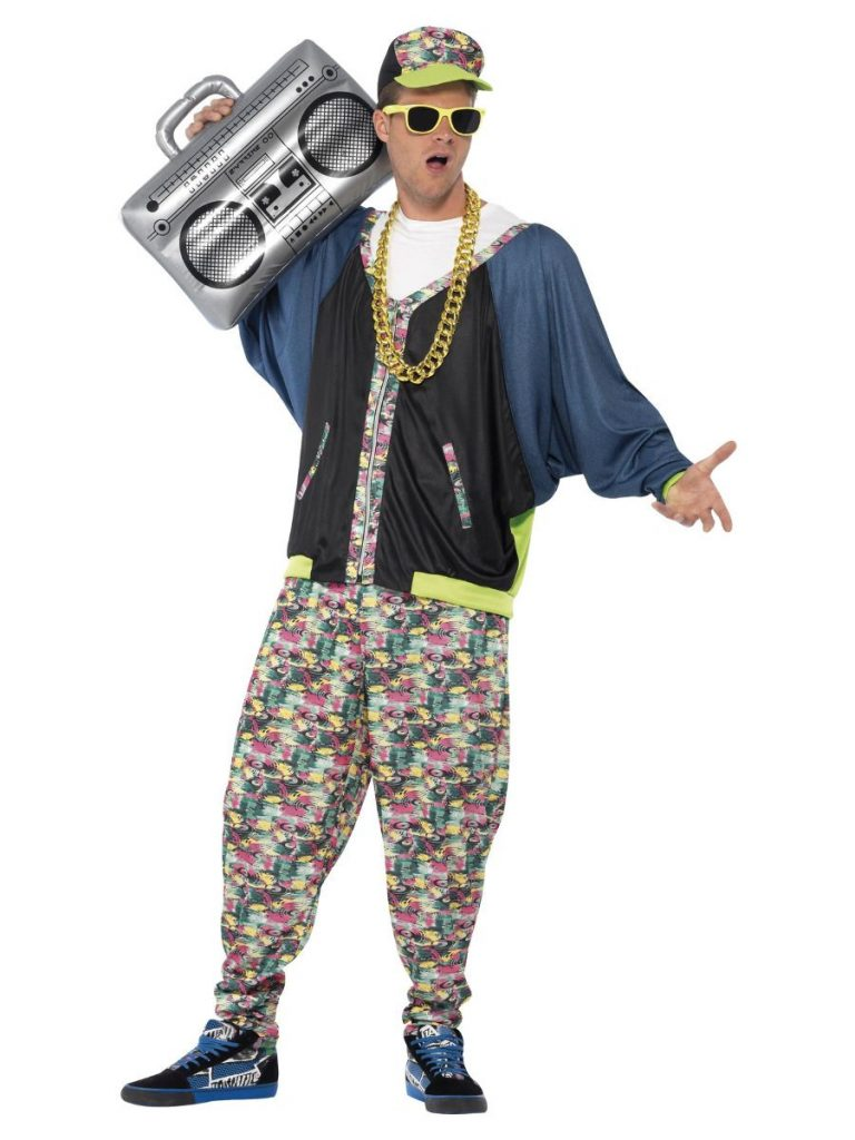 80'S hip hop costume one size