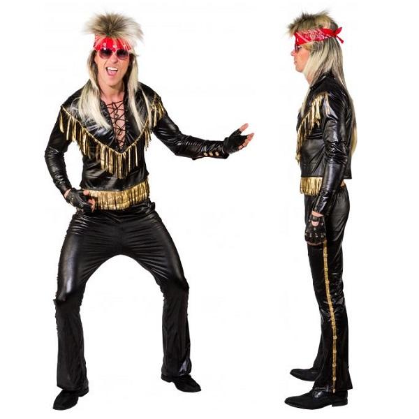80ties rocker kostuum - 50/52