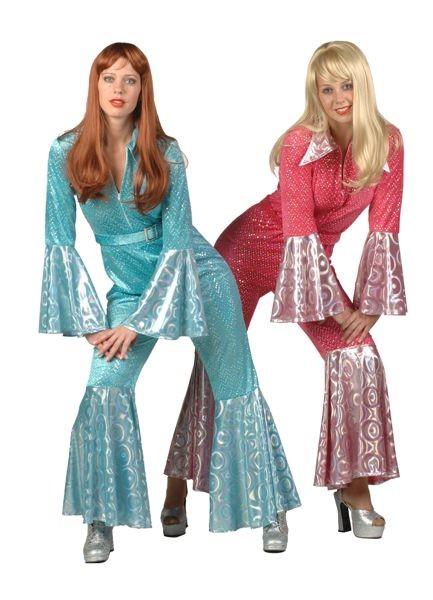 Abba jumpsuit glitter VERHUUR