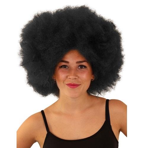 Afro pruik wollig