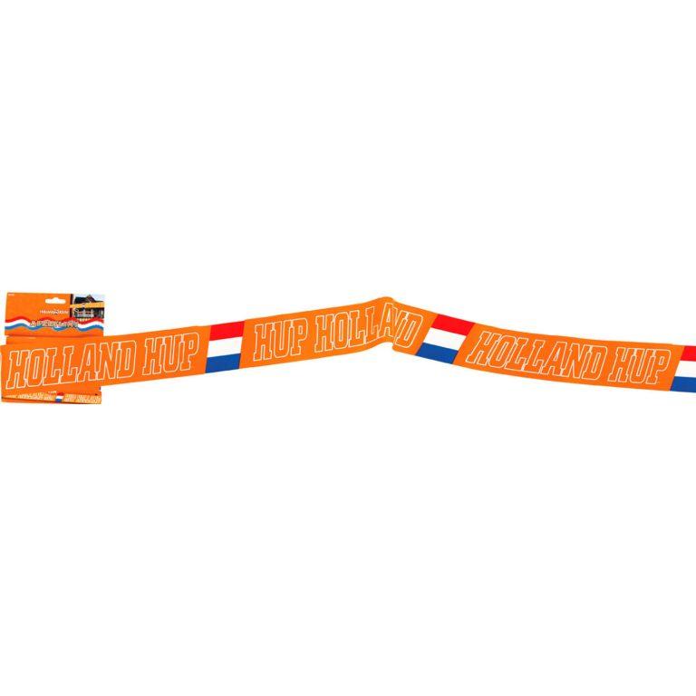 Afzetlint Oranje Hup Holland - 15 meter