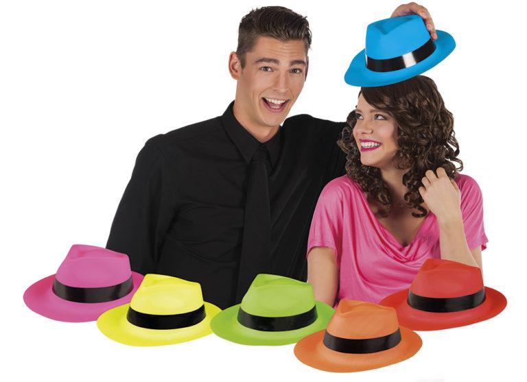 Al Capone hoed party gangster diverse kleuren