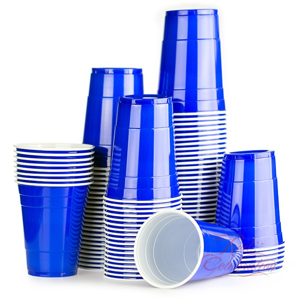 American blue cups 25 pack