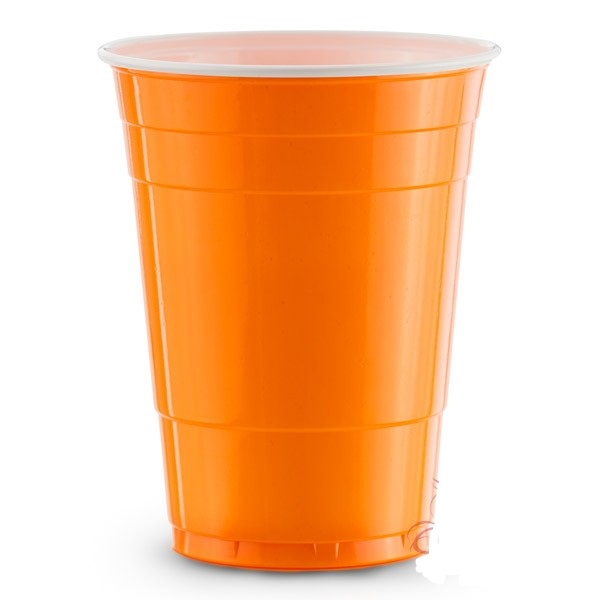 American orange cups 25 pack