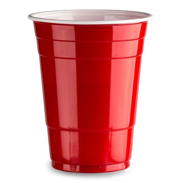 American orange cups 25 pack