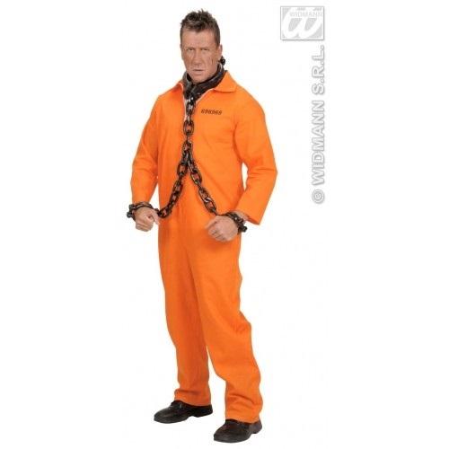 Amerikaanse gevangene kostuum - Small