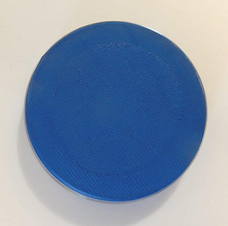 Aqua fluor UV schmink groot blauw