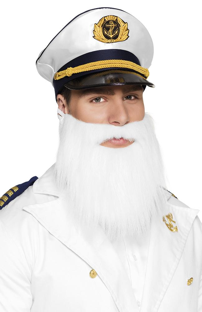 Baard kapitein wit