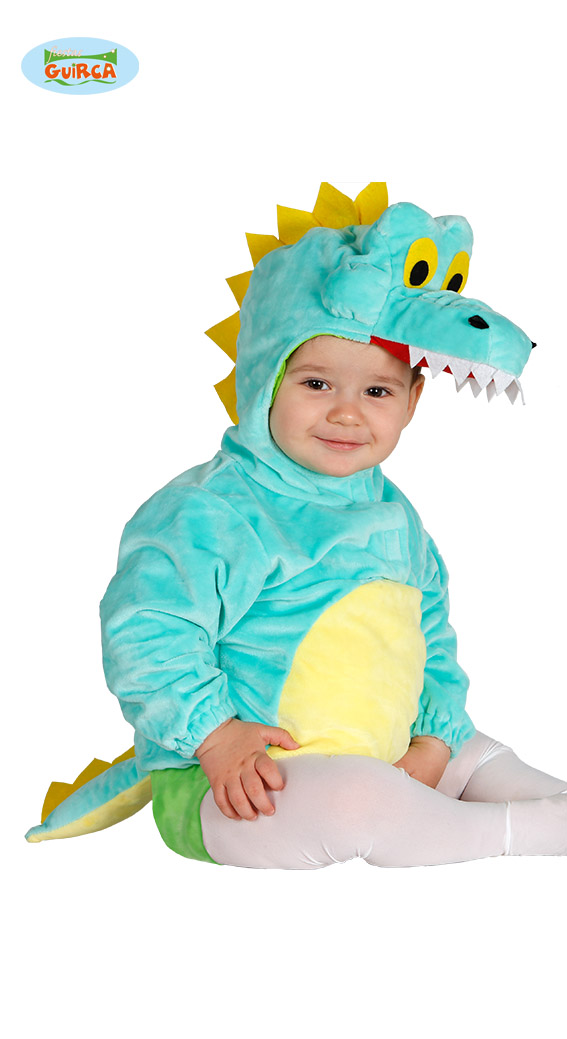 Baby verkleedpakje krokodil 6-12mnd