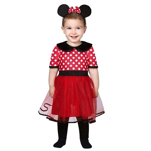 Baby verkleedpakje Minnie Mouse 12-24 maanden