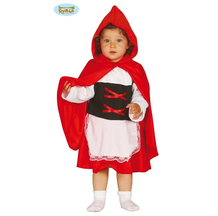 Baby verkleedpakje roodkapje 6-12mnd