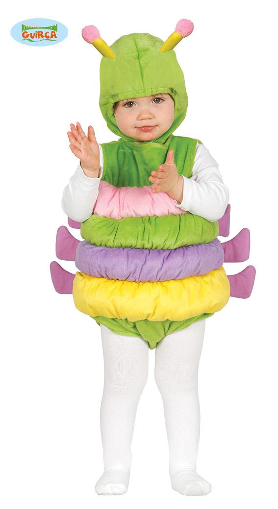 Baby verkleedpakje rups - 6-12 maanden