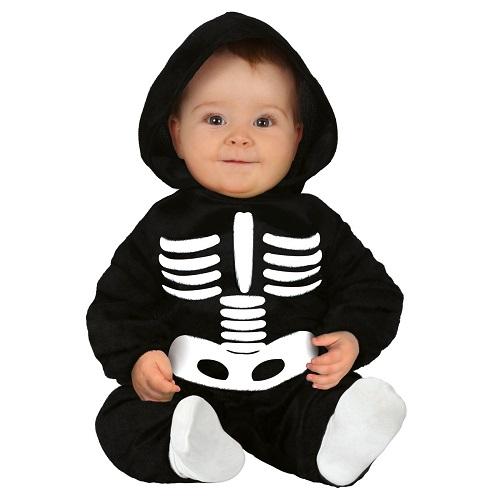 Baby verkleedpakje skelet 12-18 maanden