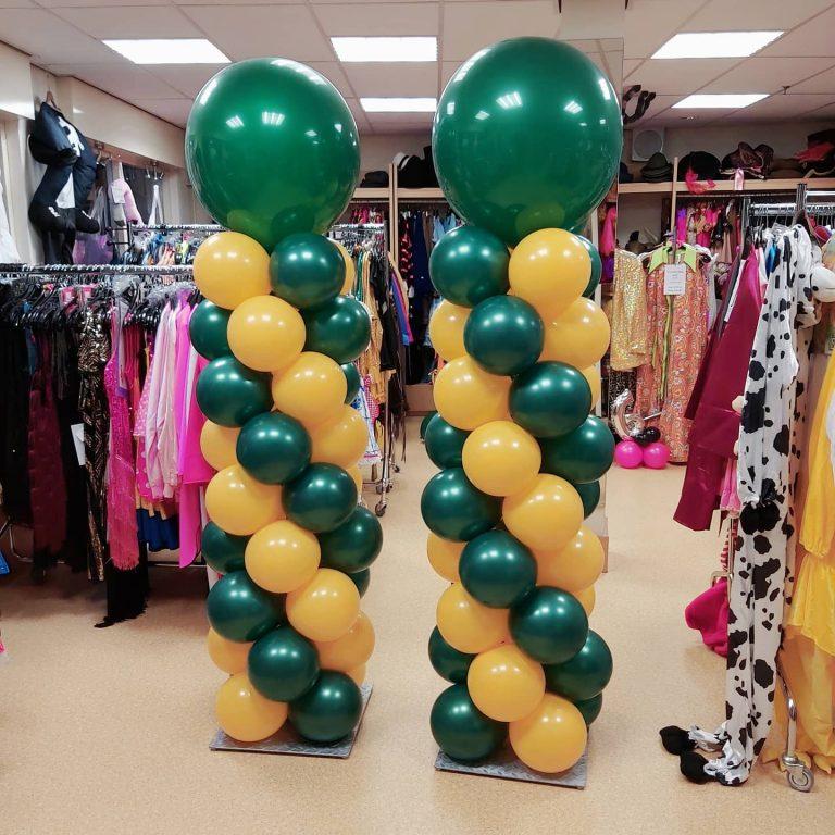 Ballon pilaar 2 meter inclusief topper