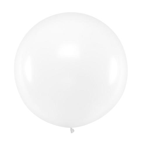 Ballon rond 50cm transparant per stuk