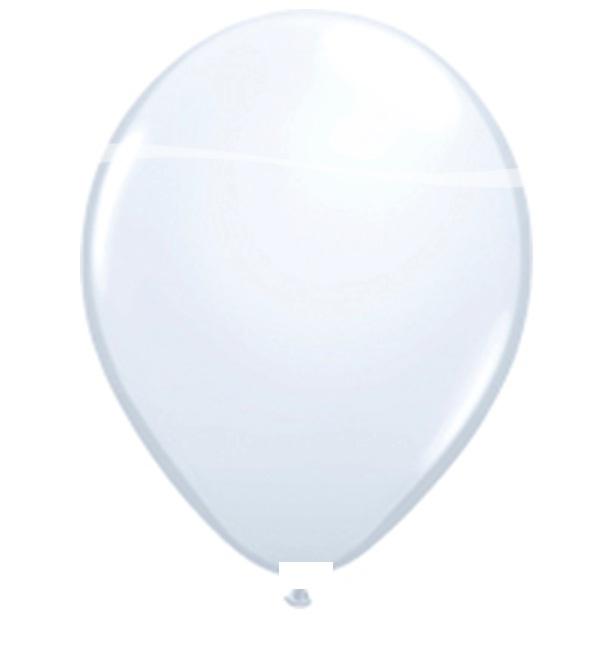 Ballonnen 100st wit