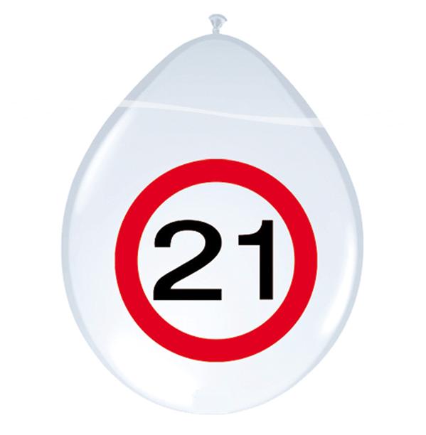 Ballonnen 21 jaar verkeer