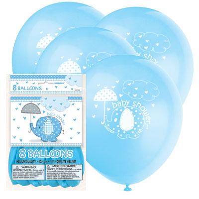 Ballonnen Baby Shower Blauw