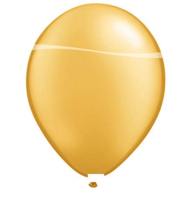Ballonnen goud metallic 100