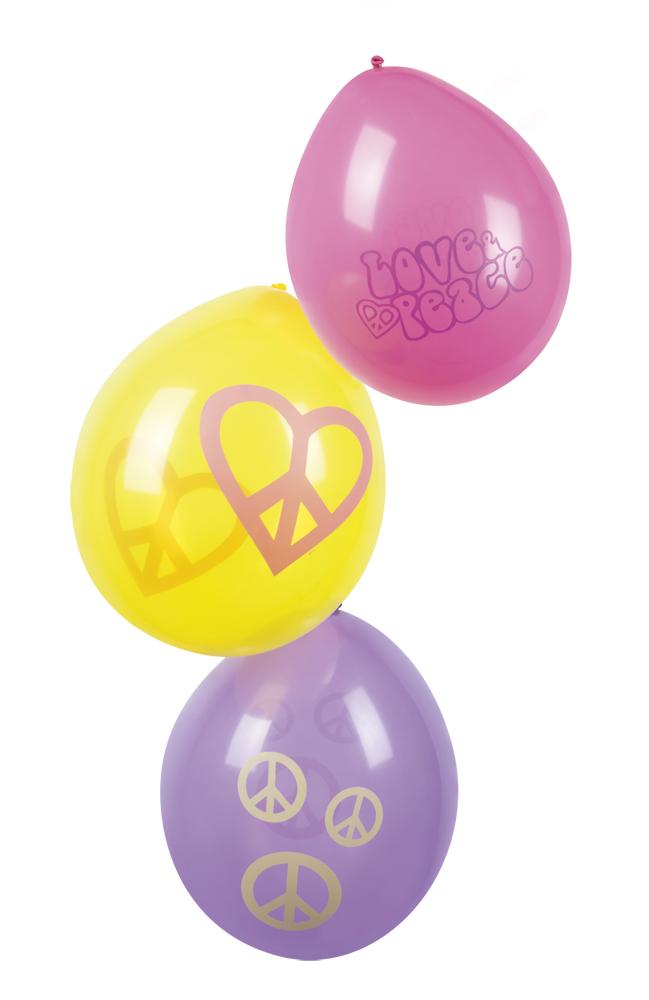 Ballonnen Hippie peace