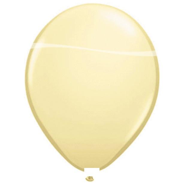 Ballonnen ivoor pastel 100