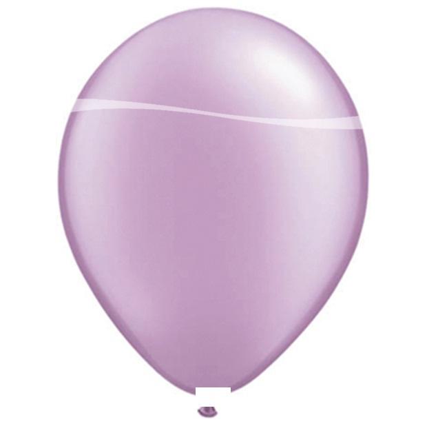 Ballonnen lila metallic 10