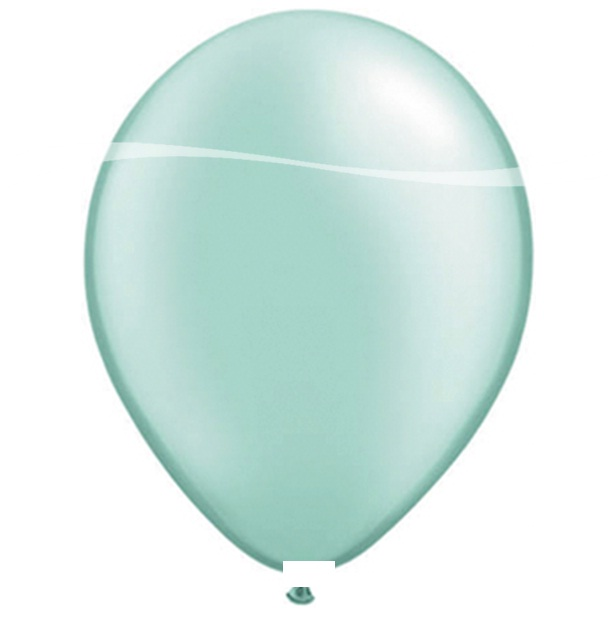 Ballonnen mint metallic 10