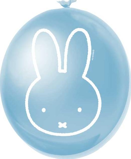 Ballonnen Nijntje blauw