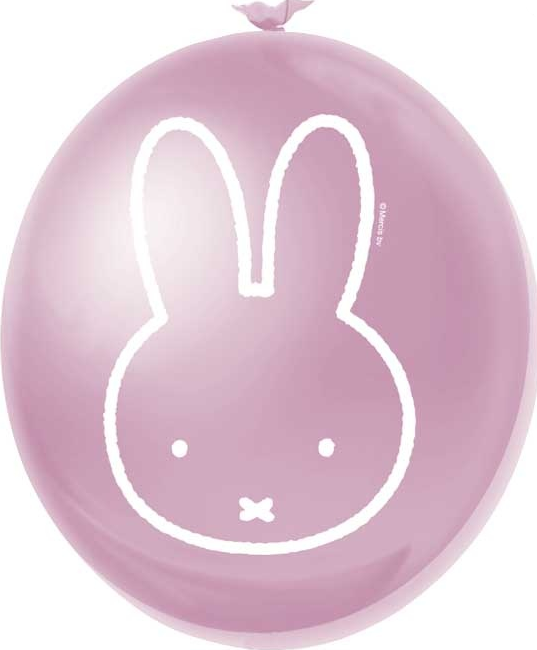 Ballonnen Nijntje roze