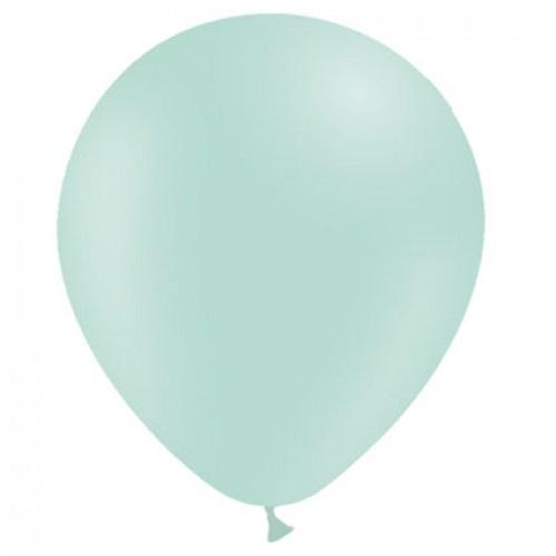Ballonnen pastel groen MAT 50 stuks