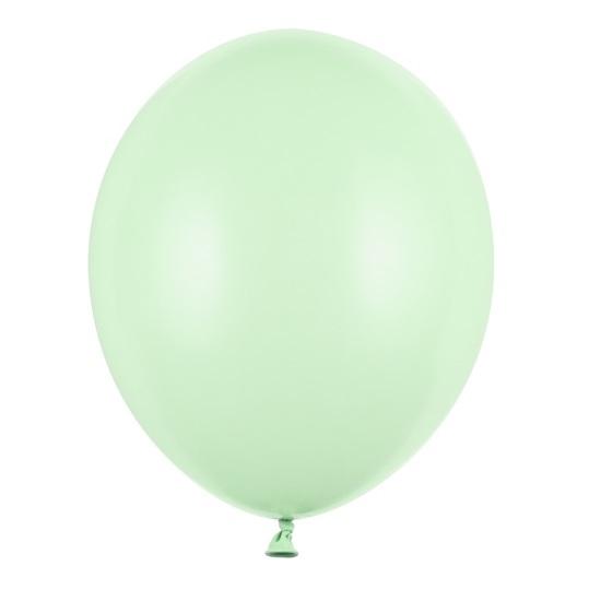 Ballonnen pistache standaard 100 stuks