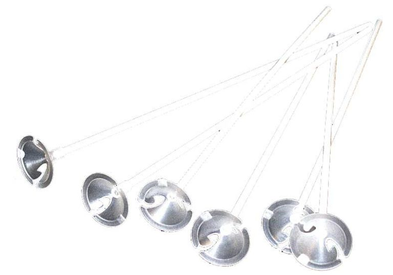Ballonstokjes plastic 100 stuks